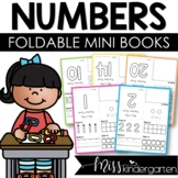 Number Practice Little Books 1-20