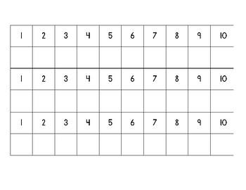 Number Practice Mats!