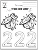 """Number Practice """"Old Lady Who Swallowed a Fly"""" No Prep"""