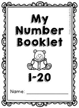 Number Practice Pages 1-20