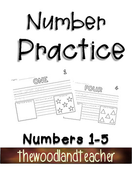 Number Practice Pages 1-5
