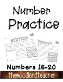 Number Practice Pages 16-20