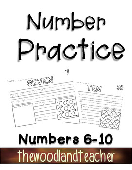 Number Practice Pages 6-10