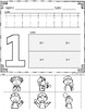 Number Practice Pages for Numbers 1-20: Set 3-Find a Match
