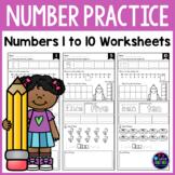 Number Sense Worksheets (Number Recognition 1-10 Worksheets)