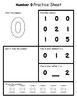 Number Practice Sheets - Freebie