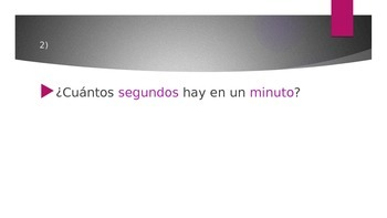 Number Practice in Spanish