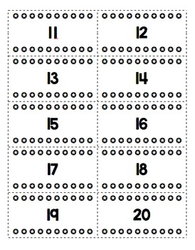 Number Practice with Cutting & Hole Punch Fine Motor Hand Strength Builder