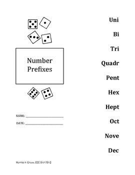 Number Prefixes {FREEBIE}
