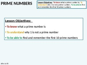 Number: Prime Numbers (+ lots of Resources)