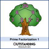 Prime factor Trees / Decomposition (1 or 2 lessons) + Resources