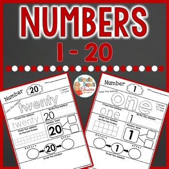 Number Printables - Math activities