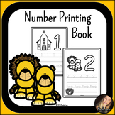 Biblical Number Printing Book