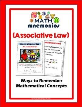 Number Properties - Distributive, Associative, Commutative BUNDLE