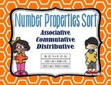 Number Properties - Distributive, Associative, Commutative Sort