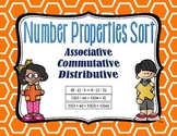 Number Properties - Distributive, Associative, Commutative Sort