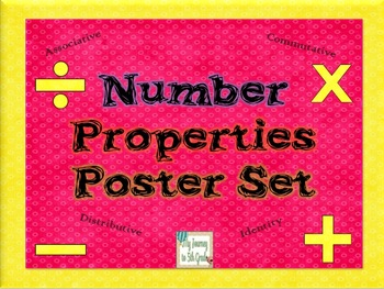 Number Properties Poster Set