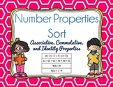 Number Properties Sort - Associative, Commutative, Identity