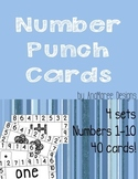Number Punch Cards