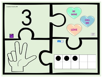 Number Puzzle 1-10 (Large Pieces)