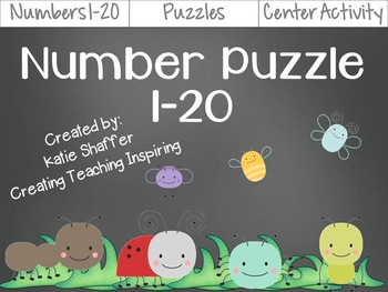 Number Puzzle 1-20 (CCSS aligned)