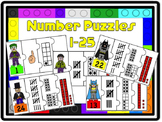 Number Puzzles 1-25