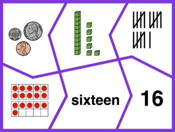 Number Puzzles 1-20 (Multiple Representations)