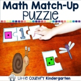 Number Puzzle: Number Identification and One-to-One Correspondence Practice 1-10