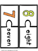 Number Puzzle: Number Identification and Writing Practice 1-10