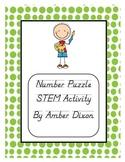 Number Puzzle STEM Activity