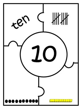 Number Puzzle by 10s