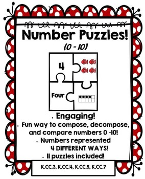 Number Puzzles: Compose and Decompose numbers 0 – 10