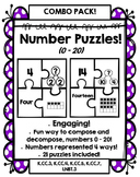 Number Puzzles: Compose and Decompose numbers 0 – 20