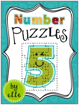 Number Puzzles - 0 Through 20