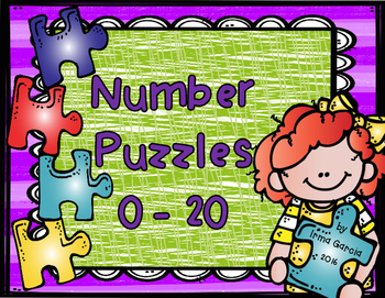 Number Puzzles 0 to 20