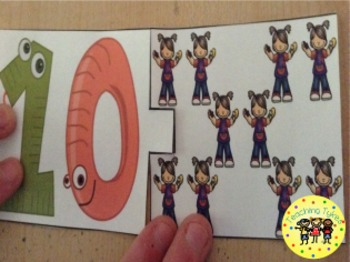 Numbers 1-10 Puzzles