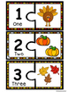 Number Puzzles 1-10- Fall Edition