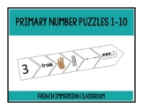 Number Puzzles 1-10 (French)