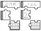 Number Puzzles 1-10 (Number Word, Number, Blank Ten Frames)