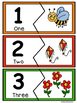 Number Puzzles 1-10-Spring Edition