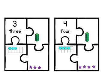 Number Puzzles ~~ 1-20