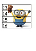 Number Puzzles 1-20 (Minions)