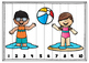 Number Puzzles 1-20 Summer Theme
