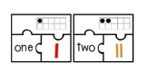 Number Puzzles 1-20 Ten Frames, Tally Marks, Number Word -