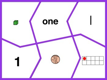 Number Puzzles 1-5 (Multiple Representations) Sample