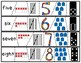 Number Puzzles 1 to 10  Subitizing Math Center