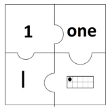 Number Puzzles Set 1 (1 to 20)