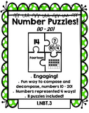 Number Puzzles: Compose and Decompose numbers 10 – 20 -  Math Dollar Deals