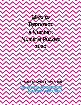 Number Puzzles 11-20: Ways to Represent a Number