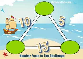 'Number Puzzles': 13 Arithmagon Number Puzzles for Exploring Basic Facts